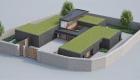 3D render of modern home design located in Midleton, Co. Cork.