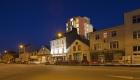 Cork Docklands Apartment Development at Night